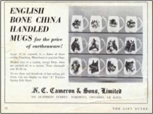 NC Cameron (Presently Enesco Canada) Is Founded